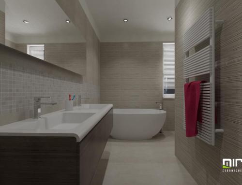 Progetto ceramiche e arredo bagno fap sole miroma ceramiche - Pavimento e rivestimento bagno uguale ...