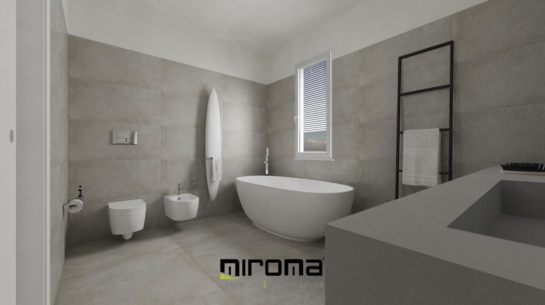 Progetto bagno moderno miroma ceramiche - Ceramiche bagno moderno ...