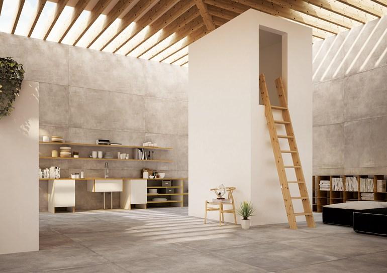 pavimenti e rivestimenti grandi formati miroma ceramiche. Black Bedroom Furniture Sets. Home Design Ideas
