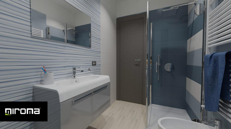 Progetto bagno con supergres lace e imola ceramiche - Progetto bagno paderno ...
