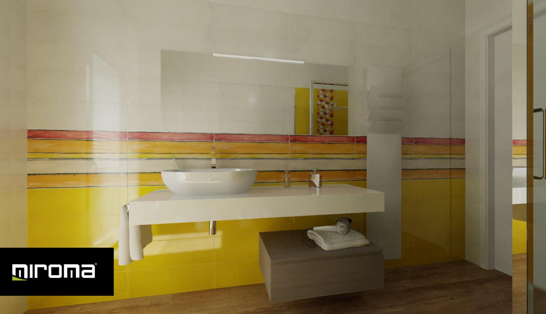Progetto bagno Imola Ceramiche, Gardenia, IB - Miroma Ceramiche