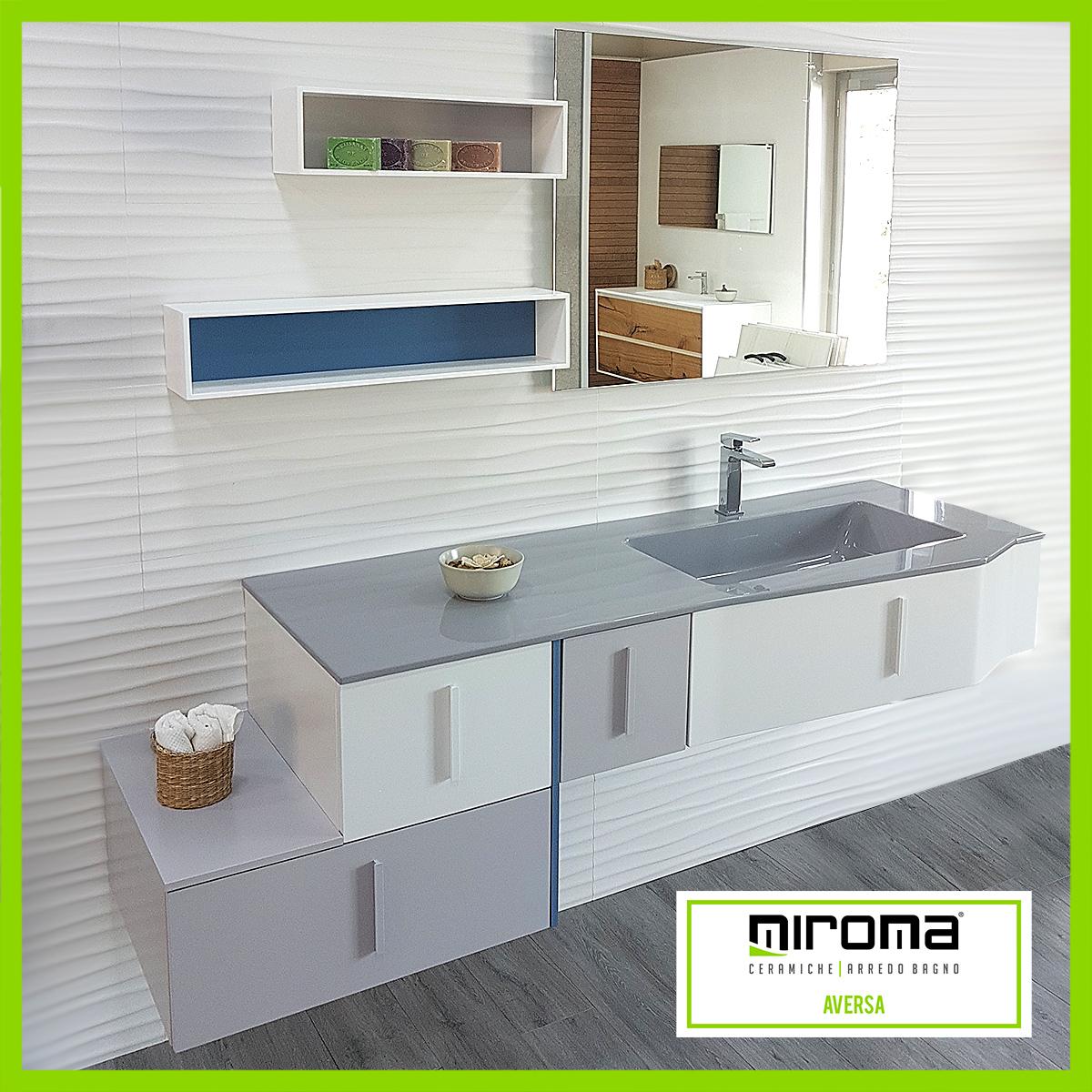 arredo bagno - composizione geromin str8 - miroma ceramiche - Geromin Arredo Bagno