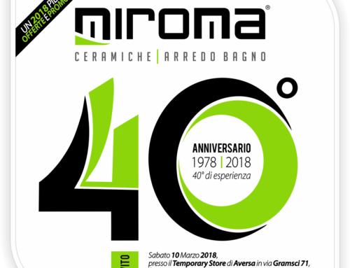 Miroma festeggia 40 anni di attività