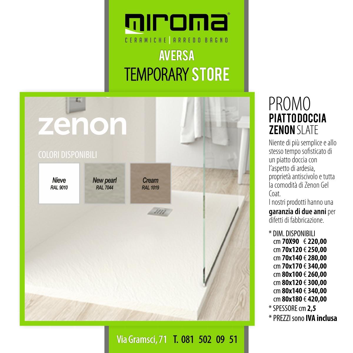 Piatto Doccia - ZENON Slate