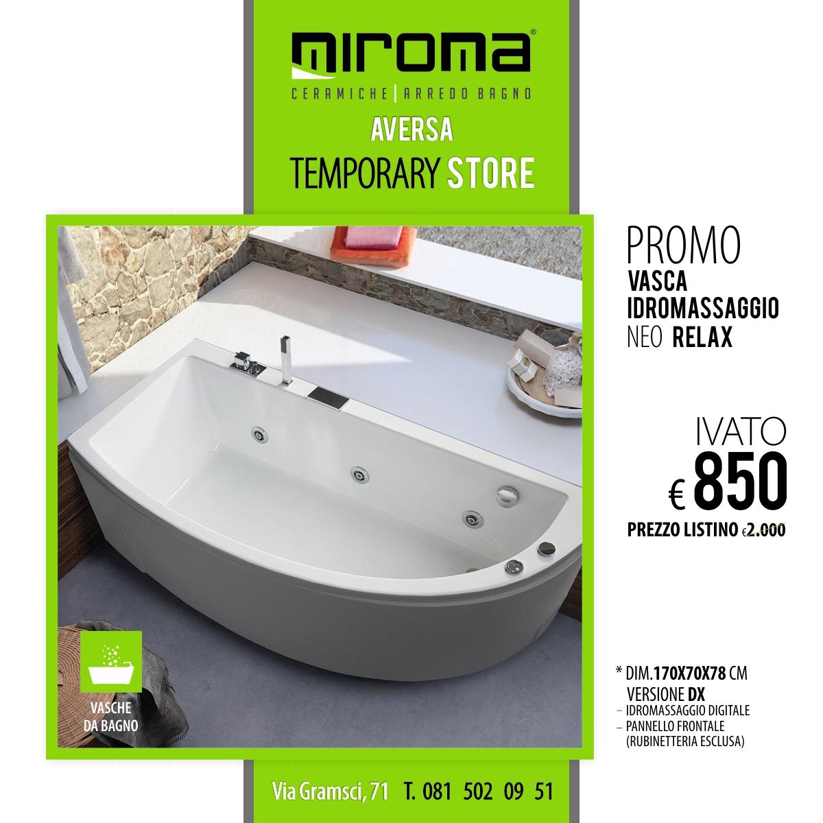 Vasca idromassaggio - RELAX NEO - Miroma Ceramiche